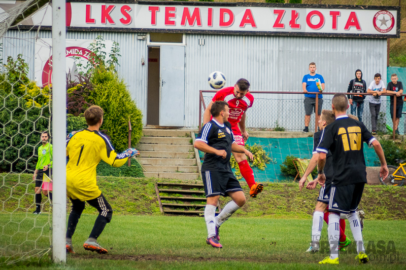 04.08.2019 Złota | Temida Złota - GROM Sufczyn | mecz Pucharu Polski | fot. Tomasz Przeklasa